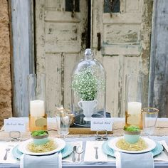 Tips on how to use what you already have to style a gorgeous Spring tabletop.