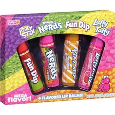 Lotta Luv Wrigley's Flavored Lip Balms, 4 count