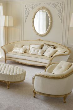 Create a sublime atmosphere for your home with the Louis Reproduction Sofa, fabulous in any setting... adding the utmost in classic style and glamour for your interior.