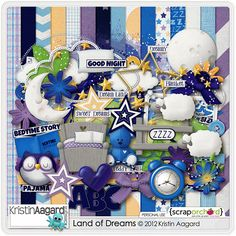 Land of Dreams by Kristin Aagard. I also own Red Ivy Design's part too