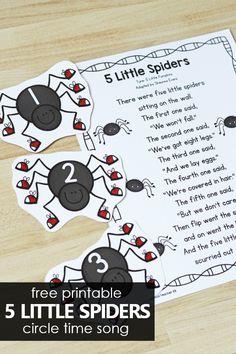 10 Little Butterflies Preschool Circle Time Song - Fantastic Fun & Learning
