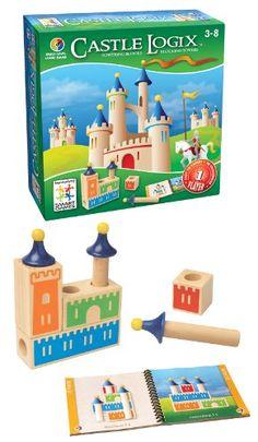Smart Games - SG 010 - eu de Reflexion - Castle Logix - 1Er Jeu De Réflexion Et De Logique Amusant: Amazon 28€