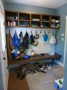 mud rooms are supposed to look like this, right?!
