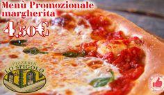 Menù Promozionale Pizza Margherita Da Pizzeria Lo Spigolo