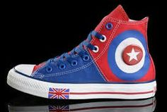 76685a3b519 Find Harper Beckham CONVERSE British Flag Blue Red Tonal Stitching Canvas  Authentic online or in Footlocker. Shop Top Brands and the latest styles  Harper ...