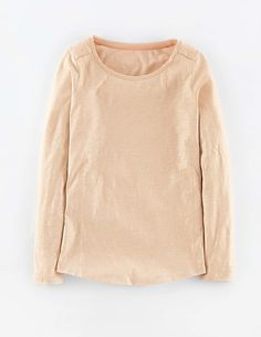 Glitter Long Sleeve Top WL958 Long Sleeved Tops at Boden