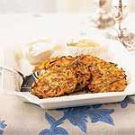 Two-Potato Latkes Recipe | MyRecipes.com - WWPP 7
