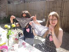 Frilly Knickers Hen Party Workshop