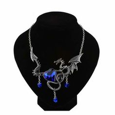 I'm not a jewelry person, but I would wear a dragon around my neck!