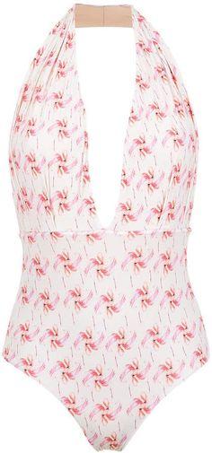 Olympiah Flamingo printed swimsuit #affiliate