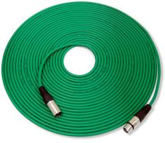 "GLS Audio 100ft Mic Cable Patch Cord - XLR Male to XLR Female Green Microphone Cable - 100' Balanced Mike Snake Cord by GLS Audio. $39.99. Professional Series Noise Free Mic Cables. They have a thick, high quality, flexible rubber jacket. They are heavy duty Noise Free ""True Balanced LO-Z"" and have 3 pin XLR connectors on each end. These cables have dual insulated copper conductors plus they are shielded. They are hand wired & hand soldered and have high qualit..."