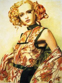"""herbst""_pastel_on_paper_61x75cm_2003 Privat Collection"