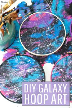 DIY GALAXY PAINTING CRAFT FOR KIDS