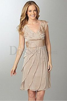 Soft Chiffon Dress for Mother of the Bride