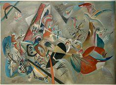 Im Grau, de Wassily Kandinsky.