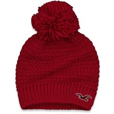 Hollister Co Preppy Winter Hat ($25) ❤ liked on Polyvore