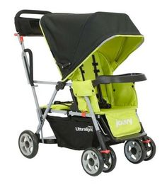 Great sit and stand stroller for baby plus preschooler twins