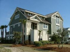 craftsman style beach house- Color