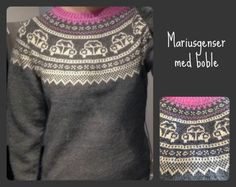 Bilderesultat for mariusgenser Knitting Patterns Boys, Knitting Charts, Hand Knitting, Fair Isle Chart, Baby Barn, Knit Baby Sweaters, Christmas Sweaters, Knit Crochet, Clothes
