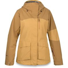 The new women's Tamarack GORE-TEX® 2L jacket brings a classic look to a high performing shell. This jacket features bellowed dual entry hand pockets, fresh color blocking and is detailed with YKK® AquaGuard® water resistant zippers and fully t