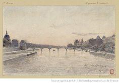 La Seine à Paris  H.A. Saffrey, 1893  http://bit.ly/JljZBv