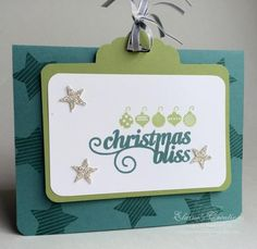 christmas bliss, slider card by eschader - Cards and Paper Crafts at Splitcoaststampers