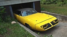 1970 Plymouth Superbird In The Basement! - http://barnfinds.com/1970-plymouth-superbird-in-the-basement/