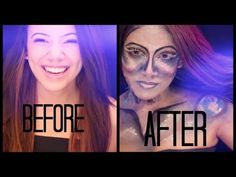 MY TIME TRAVEL To The Future Makeup Tutorial And Story - YouTube