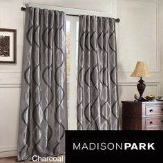 A soft oggi wave embellishes the iridescent taffeta construction of this beautiful panel curtain. This curtain is finished with an energy-saving lining which also allows it to block exterior light.