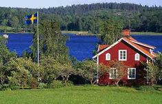 I could go for the typical Swedish house setting too.