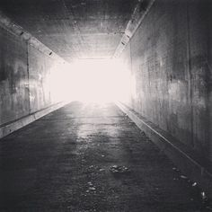 There is a light at the end of the tunnel!!  (at downtown LA )