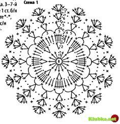 klikni pro další - Her Crochet Crochet Tablecloth, Crochet Doilies, Star Flower, Web Magazine, Snowflakes, Unique Gifts, Gadgets, Knitting, Couture