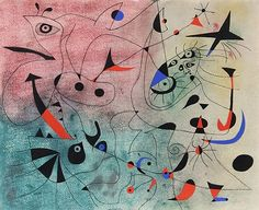l'Etoile Matinale from Miro Constellations by Joan Miró from RoGallery.com