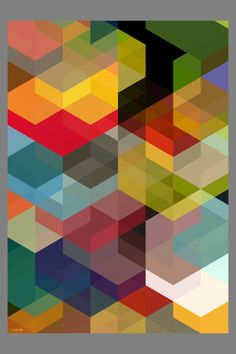 Color/Pattern/Grid- I enjoy the shape (grid), in which creates the pattern of the colors. It is very unique.