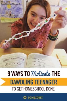 9 Ways to Motivate the Dawdling Teenager to Get Homeschool Done Tips for homeschooling high school and middle school motivation for teens Homeschool High School, Homeschool Curriculum, High School Hacks, School Tips, School Ideas, How To Start Homeschooling, Online Homeschooling, Homeschooling Statistics, Las Vegas