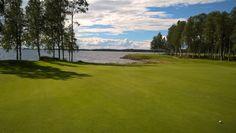 Beautiful golf course in Paltamo.