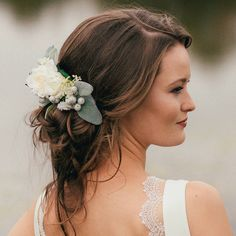 Bella Bridal Flower Hair Comb