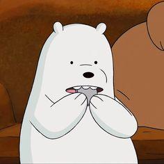 Ice Bear We Bare Bears, We Are Bears, We Bear, Cute Panda Wallpaper, Bear Wallpaper, Cartoon Wallpaper, We Bare Bears Wallpapers, Panda Wallpapers, Cute Funny Pics