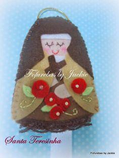 Fofurebas By Jackie: Santa Teresinha