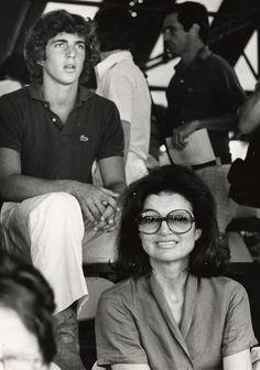 John Kennedy Jr. and Jacqueline Kennedy Onassis