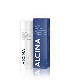 """Alcina Sauerspülung 250ml - die beste Spülung und Pflege für's Haar. Sie ist der Geheimtipp nach jeder Haarwäsche, denn die Haare werden diese Spülung gar nicht mehr missen wollen. Sie pflegt das Haar nicht nur sehr schön, sondern macht es auch leichter kämmbar. Praktisch ist auch, dass die Sauer-Spülung nicht einwirken muss, sondern direkt nach dem """"Einmassieren"""" wieder ausgespült wird."""