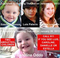 1/28/2013: Emergency: Felony Warrant: Two Kidnapped Unrelated Babies Missing in Arizona with Luis... pinned with Pinvolve