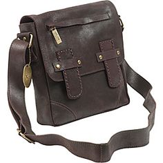 ClaireChase Londres Man Bag - Distressed Brown - via eBags.com!