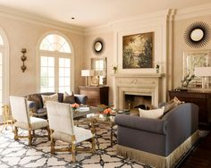 Hgtv Shows How A Traditional Living Room And Dining Room Get Their Own