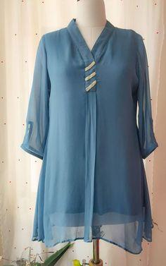 Neckline Designs, Dress Neck Designs, Stylish Dress Designs, Blouse Designs, Kurti Sleeves Design, Kurta Neck Design, Sleeves Designs For Dresses, Simple Pakistani Dresses, Pakistani Dress Design