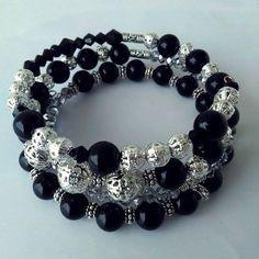 Memory wire bracelet by Natasa