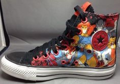 Converse Thundercats Shoes 4(Boys) / 6(Girls) Chuck Taylor All Star Comic Black