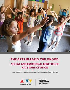 Research indicates that exposure to the arts in early childhood has positive social and emotional effects, according to a new survey from the National Endowment for the Arts, but there's room for more research on the topic.