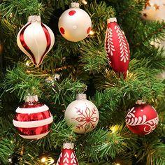 Weihnachtskugeln Orange Glänzend Aus Glas 7cm 8 Stück   Weihnachtsdeko  Weihnachtsdeko Basteln Weihnachten Weihnachten Dekoration Weihnachtsbaum  Weiu2026