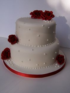 Carl & Maria's Wedding Cake | Flickr - Photo Sharing!